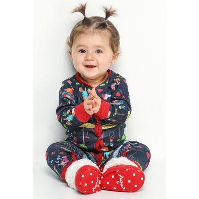 BOTINHA BABY PELUCIADA - FAMILIA NO PARQUE